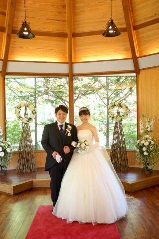 なし婚軽井沢写真だけ結婚式