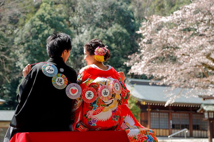 桜和装前撮りロケーションフォト群馬