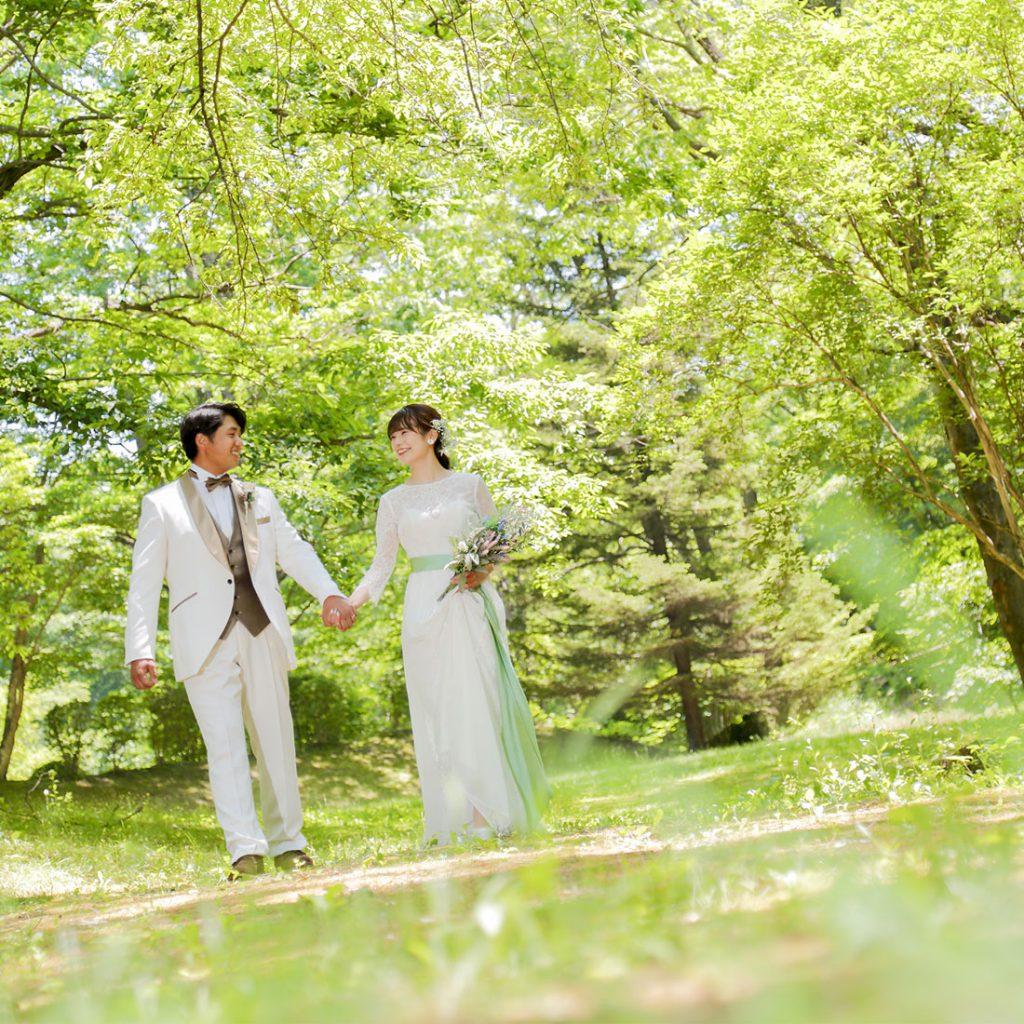 軽井沢結婚式前撮りロケーションフォト