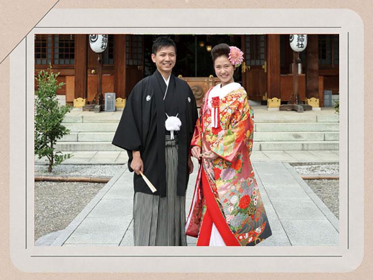 結婚式和装前撮りロケーションフォト 群馬県pwfフォトウェディング